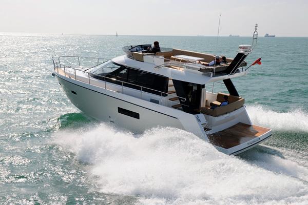 Video Boat Test   Sealine F42