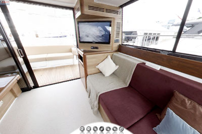 Sealine F42 virtual tour