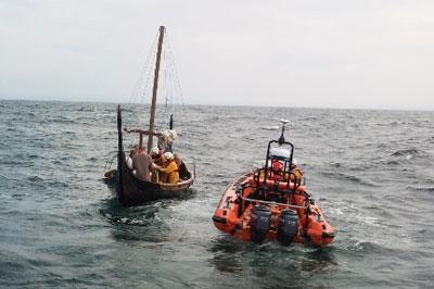 RNLI rescue vikings