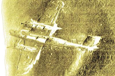 Dornier 17 aircraft restoration