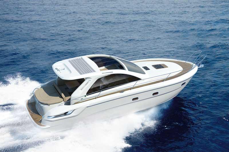 Bavaria 38 HT at the Southampton Boat Show