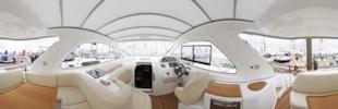 Bavaria 38HT cockpit