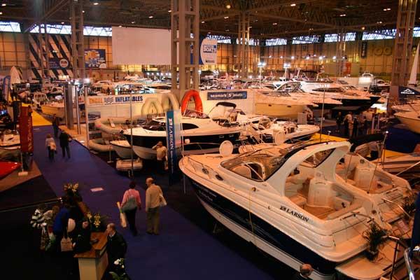 Boat and Caravan Show at the Birmingham NEC