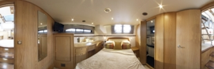 Haines 400 aft cabin virtual tour