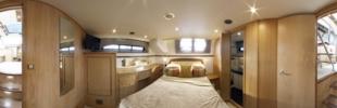 Haines 400 aft cabin virtual tour
