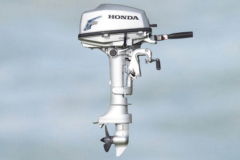 The ultimate 5hp outboard test motor boat yachting for Honda 4 stroke outboard motors