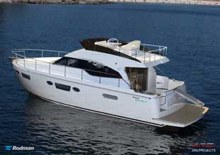 Rodman Spirit 42 aft view
