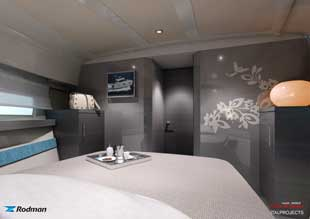 Rodman Spirit 42 mid cabin