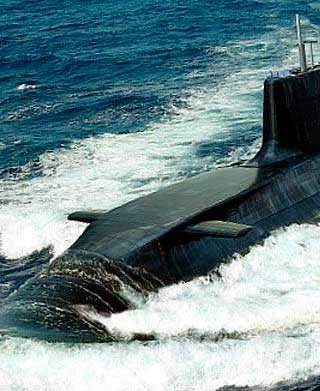 A nuclear submarine will enter the Solent