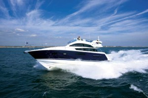 Motor Boat & Yachting | Fairline Squadron 42 Running Profile Shot