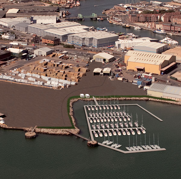 Artist's impression Port of Poole Marina