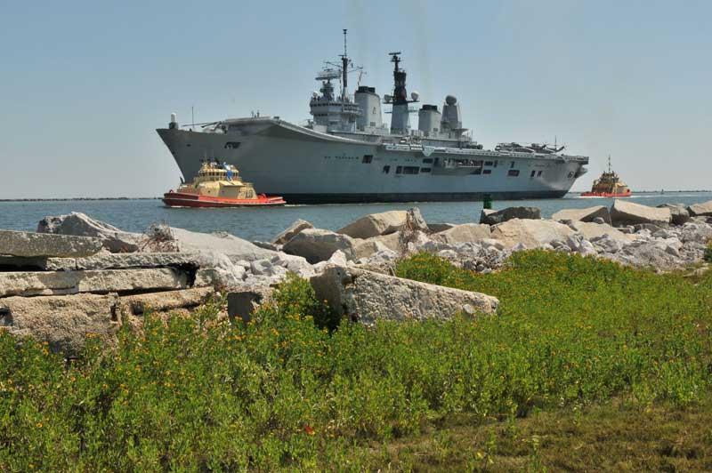 Ark Royal warship