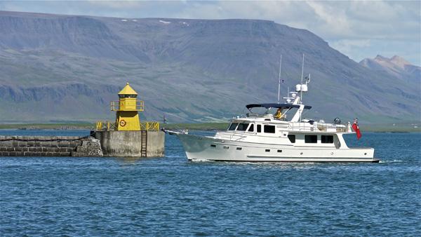 Venture II in Iceland