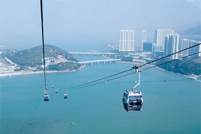 Hong Kong's cable car