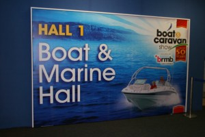 Boat and marine hall