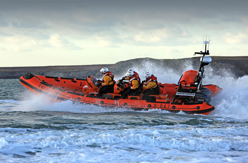 RNLI Atlantic 85 lifeboat