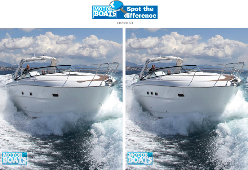 Bavaria 38 spot the difference