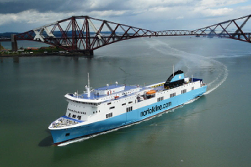 Norfolkline Scottish Viking | Motor Boats Monthly