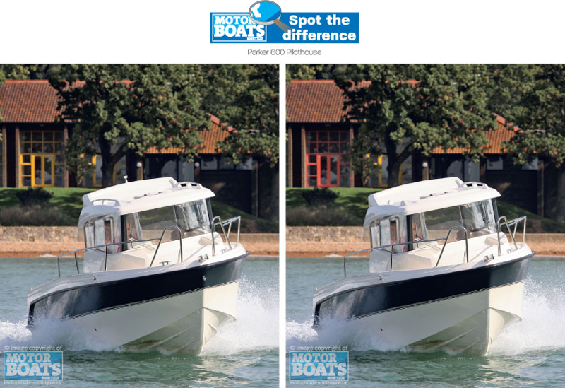 Parker 600 | Motor Boats Monthly | Spot the difference