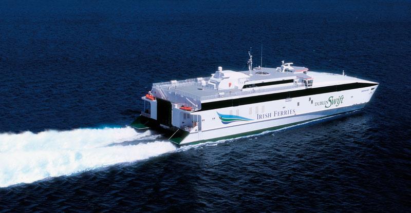 Irish Ferries' Dublin Swift | Motor Boats Monthly