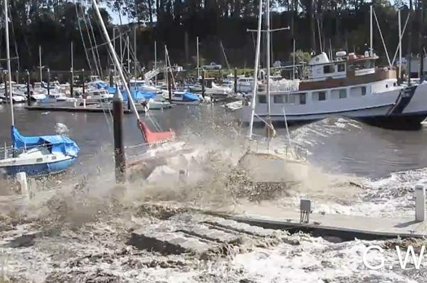 Motor Boat & Yachting | Tsunami Damage Santa Cruz