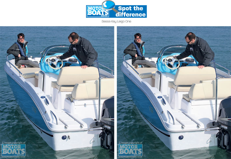 Sessa Key Largo | Motor Boats Monthly | Spot the Difference