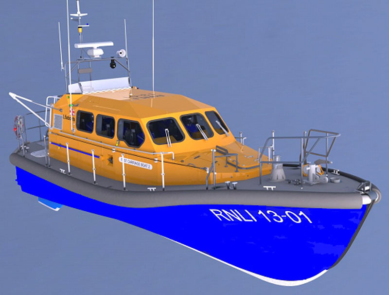 Shannon Class Lifeboat | Motor Boats Monthly