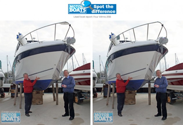 Spot the difference | Motor Boats Monthly
