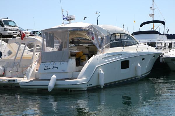 Blue Fin Jeanneau Prestige 38 S (Channel Islands & France Cruise)