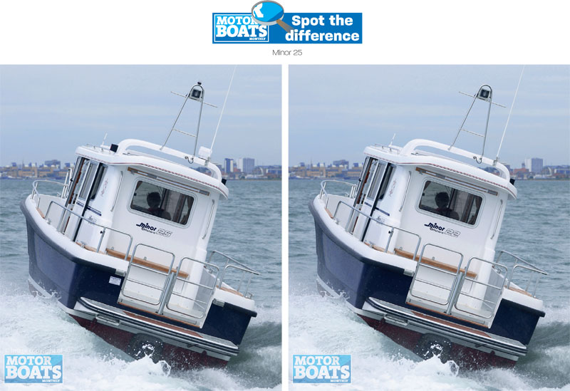 Minor-25 | Spot the Difference | Motor Boats Monthly