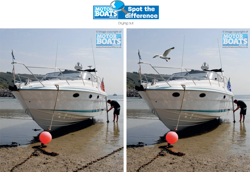 Drying Out | Spot The Difference | Motor Boats Monthly