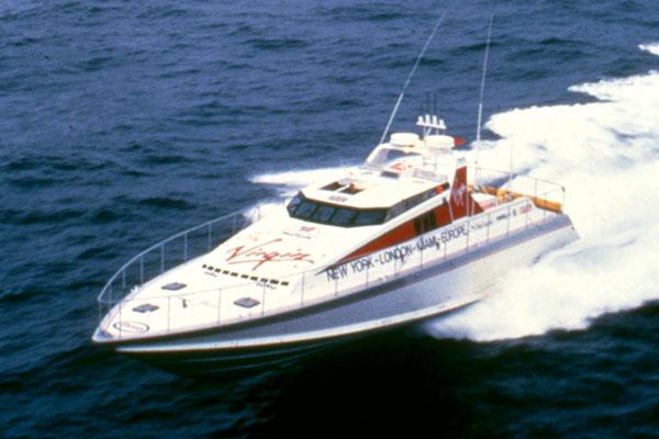 Motor Boat & Yachting | Virgin Atlantic Challenger II