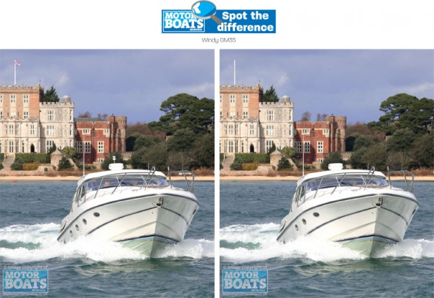 Windy GM35 | Spot The Difference | Motor Boats Monthly