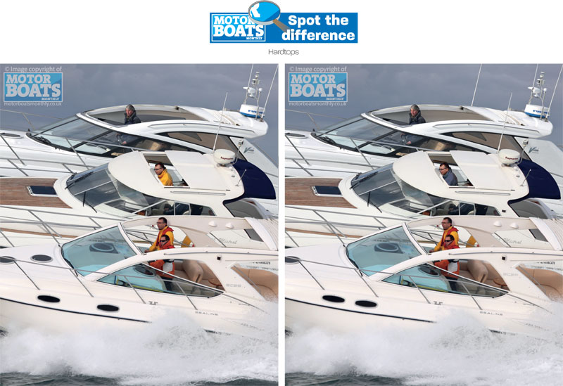 Hardtops | Spot The Difference | Motor Boats Monthly