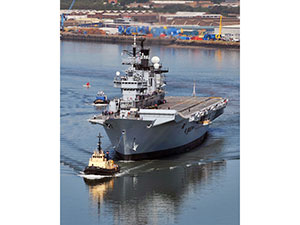 HMS Illustrious | Motor Boats Monthly
