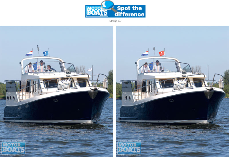 Rhein | Spot The Difference | Motor Boats Monthly