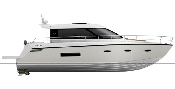 Motor Boat & Yachting   Sealine C48