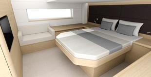 Motor Boat & Yachting | Sealine C48 Master Cabin