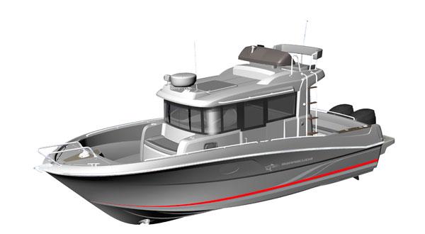 лодка барракуда 595