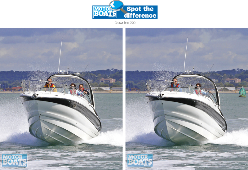 Crownline 270 | Spot the Difference | Motor Boats Monthly