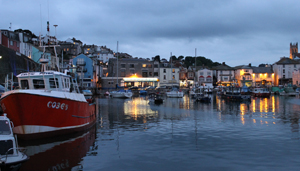 Day 12 Brixham Harbour at night