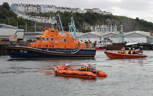 Day 12 Brixham Lifeboats