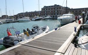 Day 1 Royal Clarence Marina