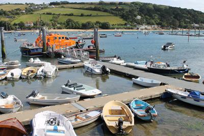 Day 8 Salcombe Harbour