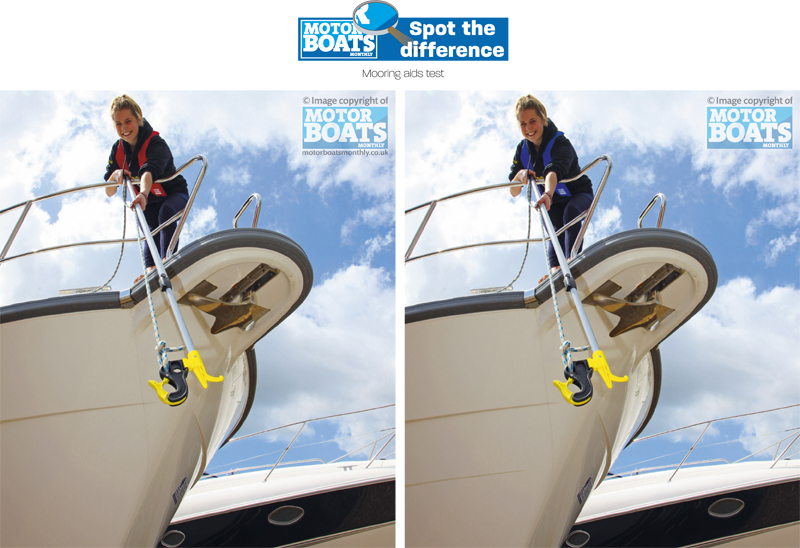 Mooring Aids | Spot The Difference | Motor Boats Monthly