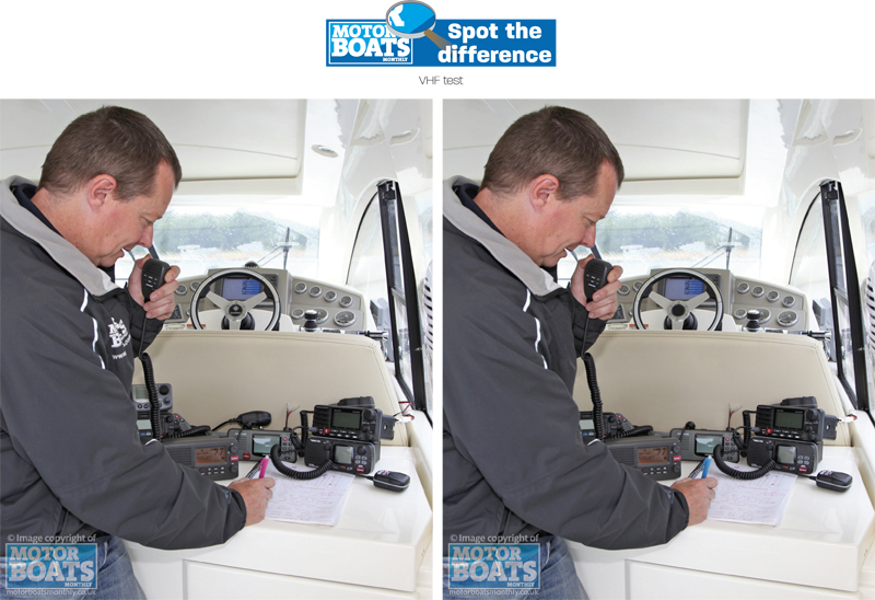 VHF Challenge | Spot the Difference | Motor Boats Monthly
