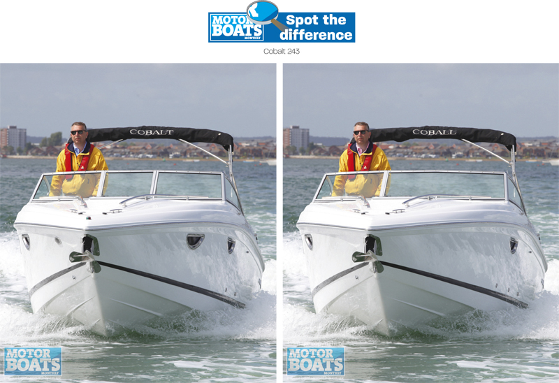 Cobalt 243 | Spot The Difference | Motor Boats Monthly