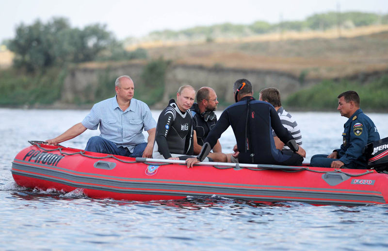 Putin's wetsuit | Best Boating Photos | Motor Boats Monthly
