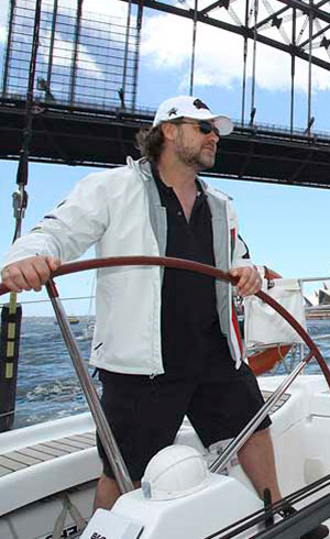 Russell Crowe | Motor Boats Monthly