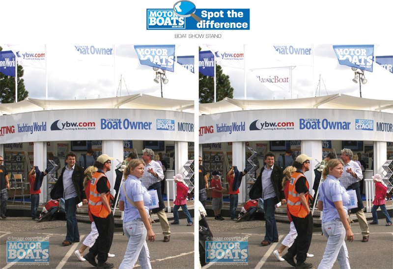 Southampton Boat Show | Spot The Difference | Motor Boats Monthly